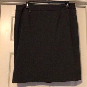 Calvin Klein gray skirt